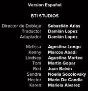 Créditos de doblaje de Black Mirror T03E03 (Netflix)