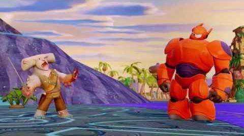 Disney Infinity Hiro y Baymax