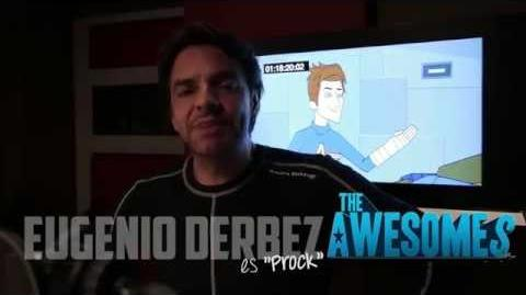 "Eugenio estrena ""The Awesomes"" en Español."