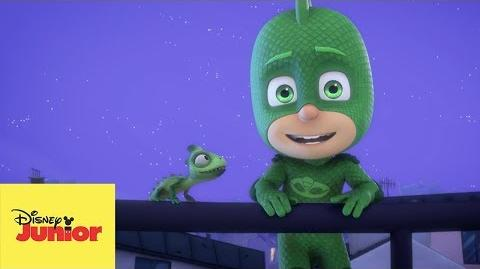 Gecko Improvisa - PJ Masks- Héroes en Pijamas