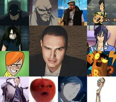 Héctor y algunos de sus personajes.jpg