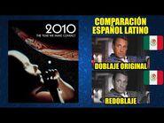 2010- El Año que Hicimos Contacto -1984- Comparación del Doblaje Latino Original y Redoblaje-Español