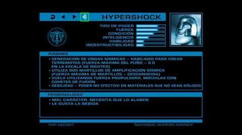 ARCHIVOS SECRETOS DE LA ANS Hypershock (Telúrico)