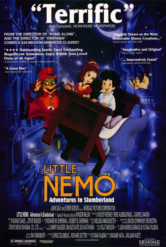 El pequeño Nemo en la tierra de los sueños