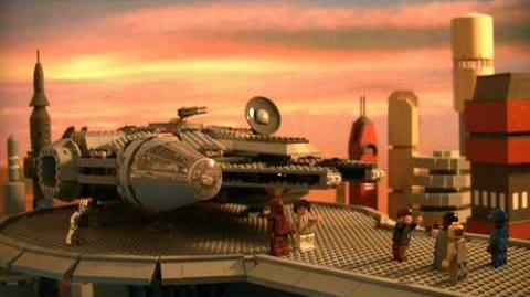 La historia de LEGO Star Wars más rápida y divertida jamás contada