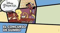 Tiana El concurso de gumbo Disney Princesa