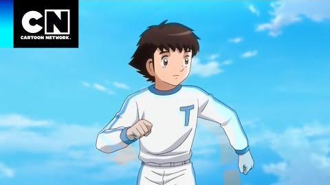 ¡Vuela hacia el Cielo! Captain Tsubasa Cartoon Network