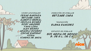 Creditos de doblaje The Loud House ESLA (S312-2)