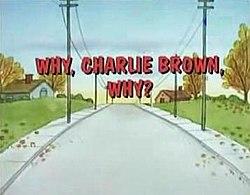 ¿Por qué, Charlie Brown, por qué?