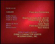 Créditos de doblaje de El arte de esquiar (A reír con Mickey) (TV) (DC)