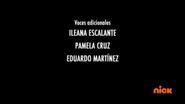 Creditos de doblaje Rise of the TMNT (Episodio 9, 2)