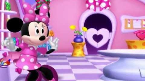 Minnie Toons - Arreglo de flores