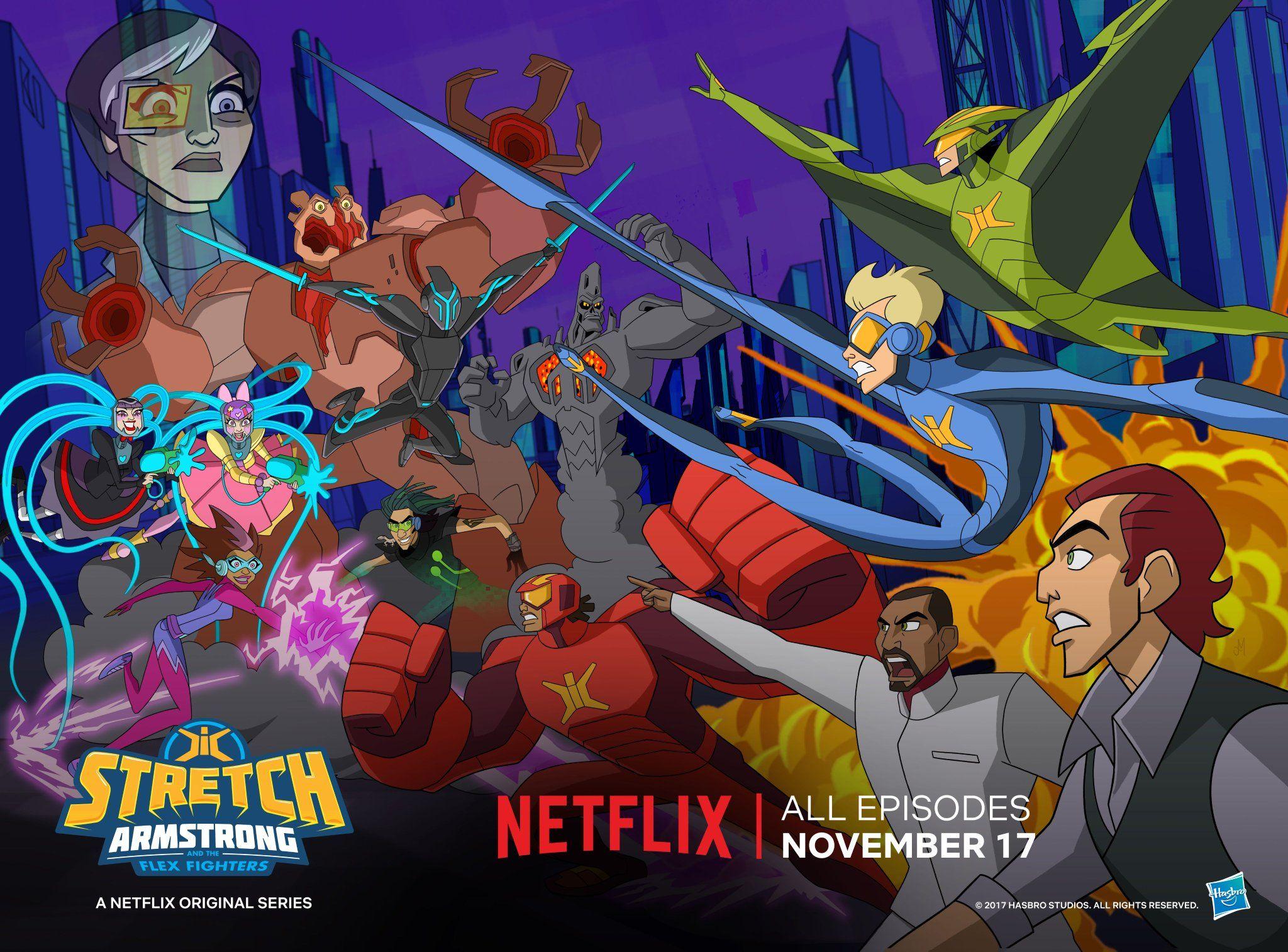 Stretch Armstrong y los Guerreros Flex