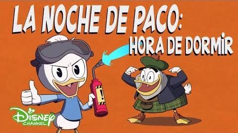 Hora de Dormir - La Noche de Paco - Patoaventuras