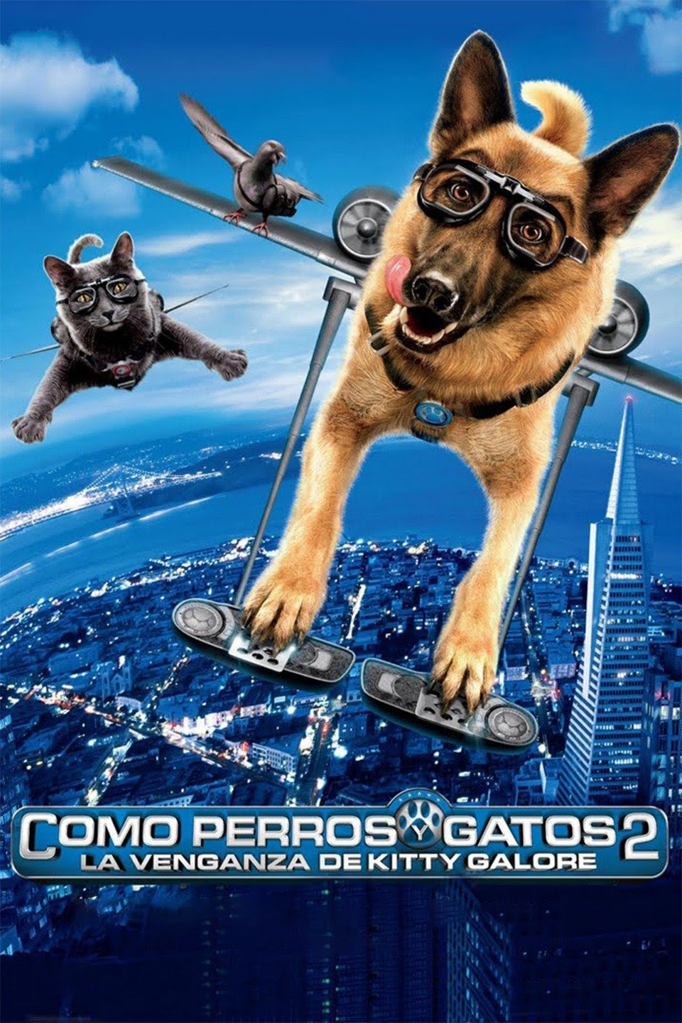 Como perros y gatos 2: la venganza de Kitty Galore