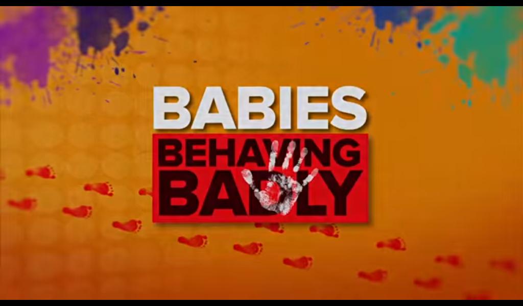 Bebés portándose mal