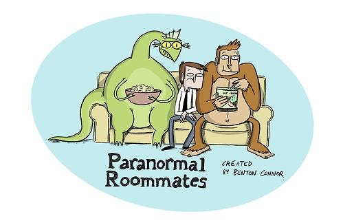 Compañeros de cuarto paranormales