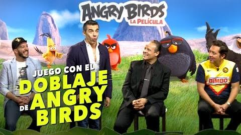 Juego con el doblaje mexicano de Angry Birds La película-0