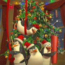 Madagascar penguins christmas poster.jpg