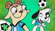 ¡Doki y sus amigos juegan fútbol! Doki Discovery Kids