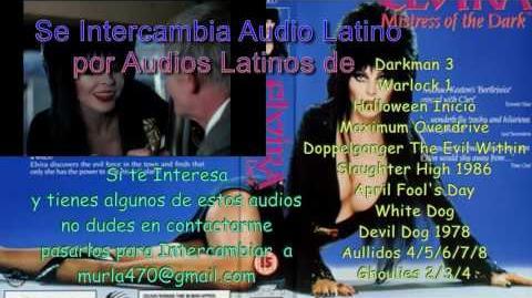 Elvira 1988 Doblaje Original Mexicano