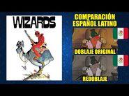 Guerra de Magos -1977- Comparación del Doblaje Latino Original y Redoblaje - Español Latino