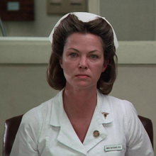 Louise Fletcher as Mildred Ratched.png