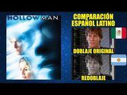 El Hombre sin Sombra -2000- Comparación del Doblaje Latino Original y Redoblaje - Español Latino