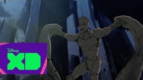 Guardianes de la Galaxia Groot parte 1