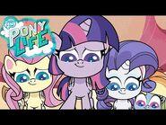 My Little Pony en español NUEVA SERIE- PONY LIFE 🦄 La insignia de la vergüenza - Episodio Completo