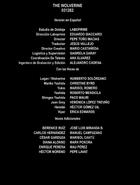 Wolverine Inmortal creditos Disney
