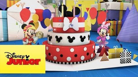 Aventuras sobre ruedas - El regalo de cumpleaños de Mickey