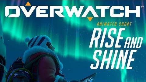 "Corto animado de Overwatch ""Rise and Shine"""