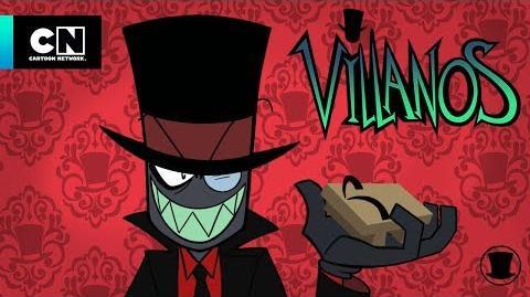 Videos de orientación para villanos Los casos perdidos del futuro Villanos Cartoon Networks