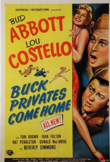 Abbott y Costello: Vuelven los reclutas