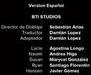Créditos de doblaje de Black Mirror T03E01 (Netflix)
