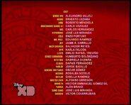 Créditos de doblaje de Lego Ninjago T04E08 (TV) (DXD)