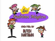 Logo en español de Los padrinos mágicos (Temp. 1-3)