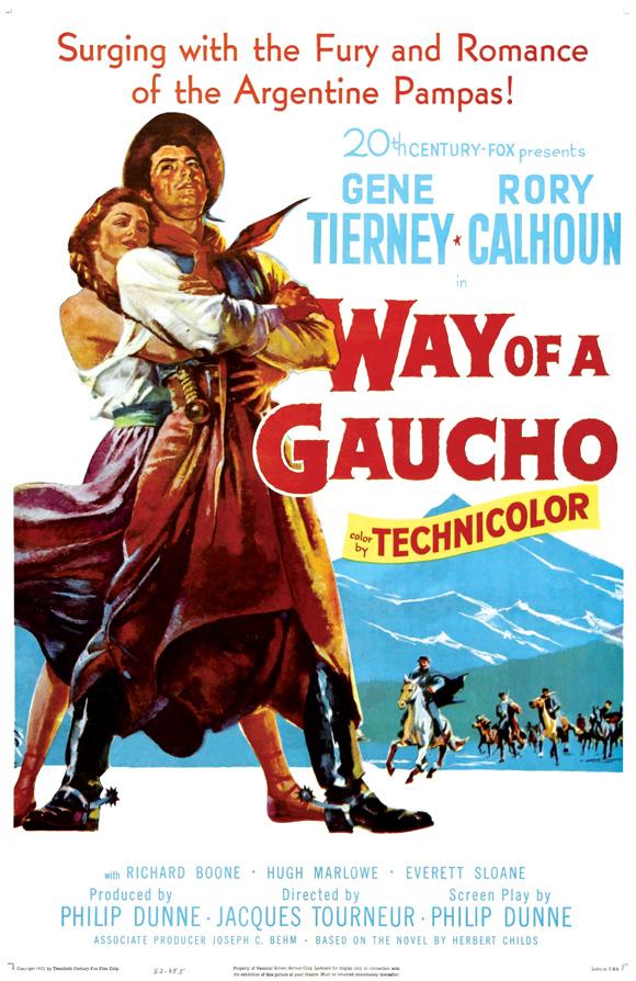 El camino del gaucho