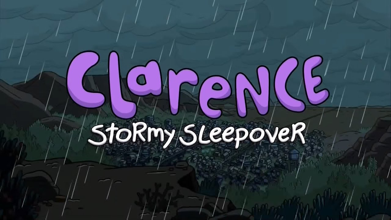 La tormentosa fiesta de pijamas de Clarence
