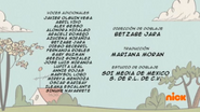 Creditos de doblaje The Loud House ESLA (S323-2)
