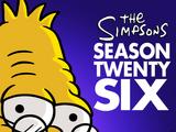 Anexo:26ª temporada de Los Simpson