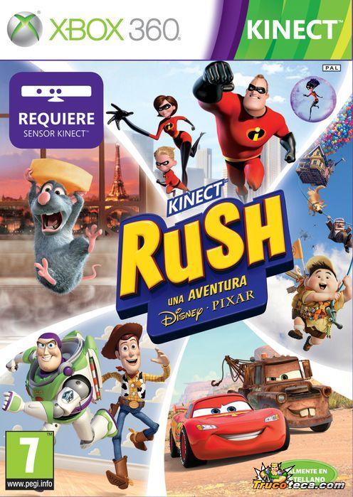 Kinect Rush: Una aventura Disney•Pixar