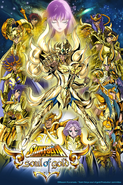 Saint Seiya Soul of Gold Poster
