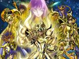 Los Caballeros del Zodiaco: Alma de oro