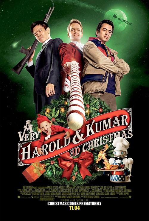 La Navidad 3D de Harold y Kumar