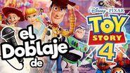 El Doblaje Latino de Toy Story 4!! Memo Aponte