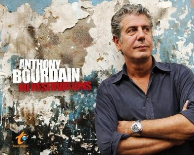 Anthony Bourdain sin reservas