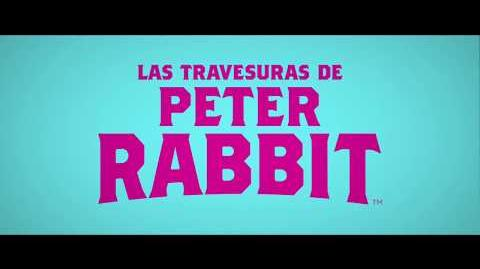 LAS TRAVESURAS DE PETER RABBIT TV SPOT-0