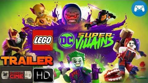 LEGO DC SUPER-VILLAINS -Tráiler videojuego doblaje latino